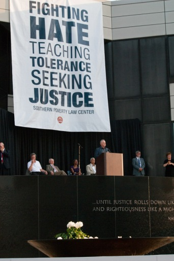 Morris Dees speaking at the Southern Poverty Law Center's 40th Anniversary