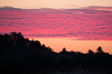 Dawn in the dunes seems like it could be 10,000 years ago