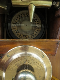 And the compass, again easy to imagine it in use on a foggy night