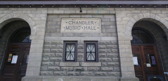 The Chandler is the center of a very lively arts program. Among others I heard Midori play here several years ago.