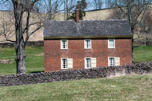 We stayed in this small building, Tanyard, which formerly housed 20 or 30 people.