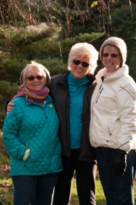 My wife and two of my sisters, such good friends and people without whom my life would have been very dark indeed.