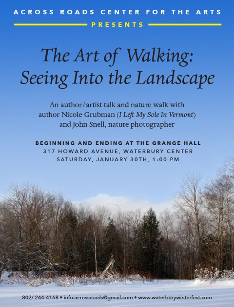 The Art of Walking Poster-4
