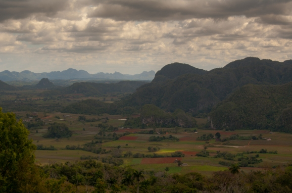 Vinales, a hard two-hour drive west of Havana, is a rich agricultural area and home to many tobacco farms. The limestone mogotes dominate the valley with their stunning presence.
