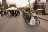 The street is open...to bikes!