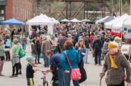 Farmers Market opens out-of-doors to good weather!